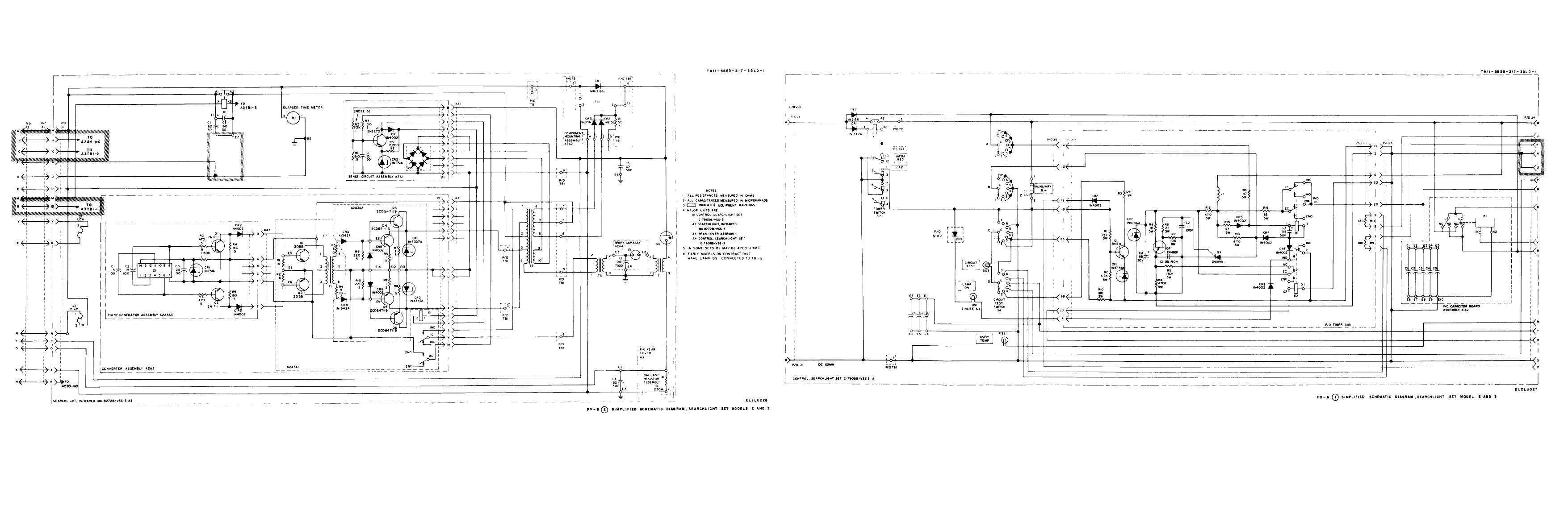 Fo 6 Y Simplified Schematic Diagram Searchlight Set Models 2 And 3 Circuitdiagram Tm11 5855 217 35ld 1